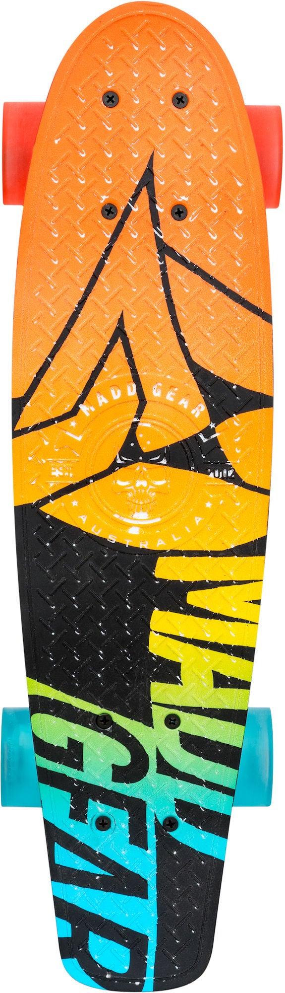 Madd Gear Skateboard Retro Board Fader Orange/Blå