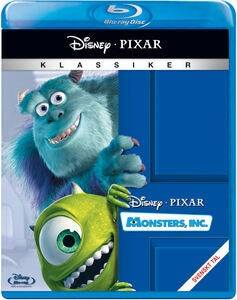 Disney Pixar Monsters, Inc. Blu-Ray