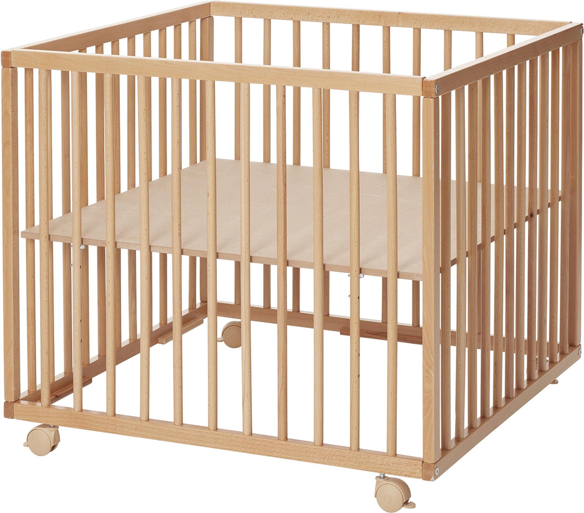 BabyDan Lekhage Comfort 80x80, Natur
