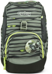 Ergobag Prime Ryggsäck Super NinBear 20L, Green Eyes