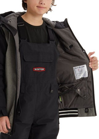 Burton Boys Gameday Jacka, Bog Heather/ True Black