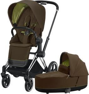 Cybex Priam Duovagn, Khaki Green/Chrome Black