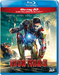 Marvel Avengers Iron Man 3 Blu-Ray 2D + 3D
