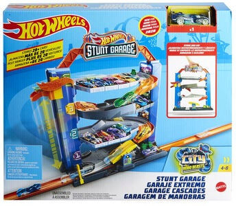 Hot Wheels City Stunt Garage