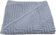 FILIBABBA Badponcho ZigZag, Powder Blue