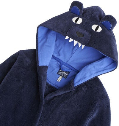 Tom Joule Novelty Morgonrock, Navy Bear