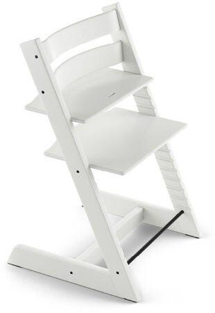 Stokke Tripp Trapp® Matstol inkl. Babyset och Bricka, White