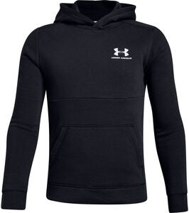 Under Armour EU Cotton Fleece Hoody, Black