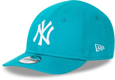 New Era League Essential 9FORTY INF NEYY Keps, Teal/Optic White