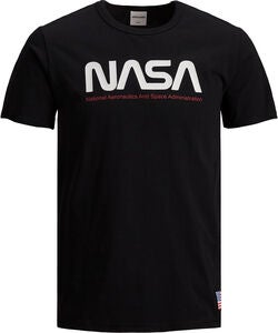 Jack & Jones Berkan T-Shirt NASA, Black