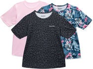 Hyperfied Wave T-Shirt 3-pack, Leo Black/Fairy Tale/Tropical Flower
