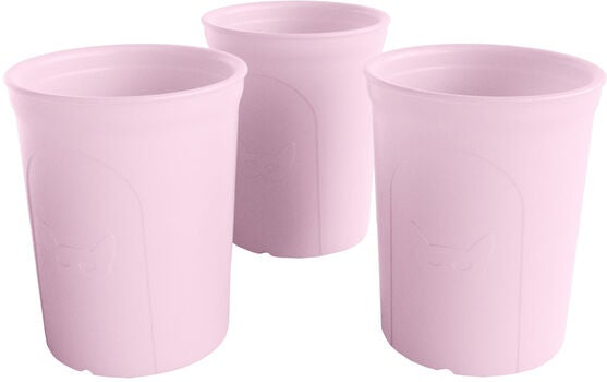 Herobility Eco Glas 2-pack, Rosa