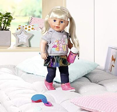Baby Born Docka Soft Touch Sister Blond 43 cm