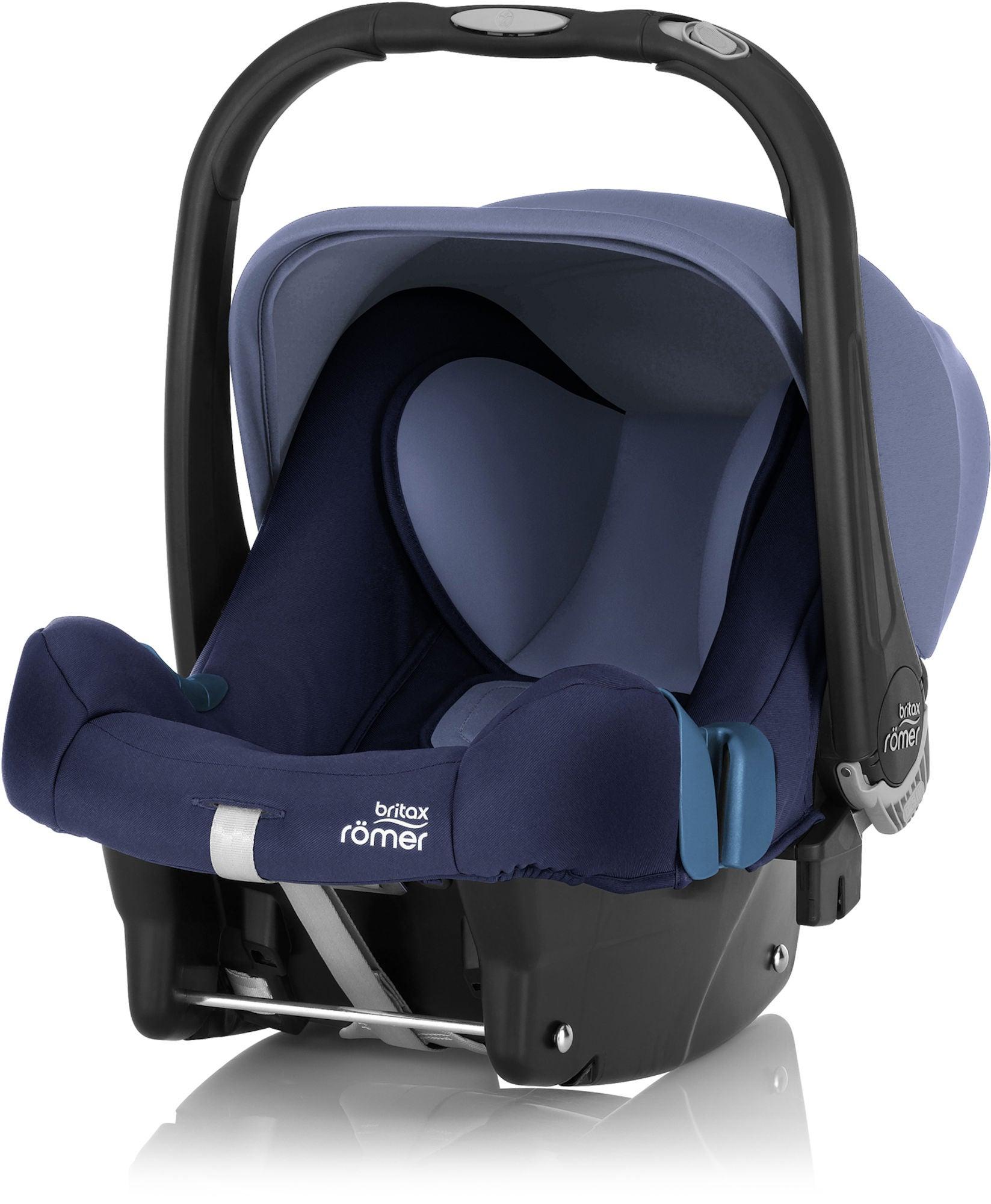 Britax Römer Baby-Safe Plus SHR II Babyskydd, Moonligt Blue