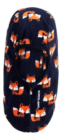 Nordbjørn Fylke Fleece Balaclava 2-Pack, Navy Fox