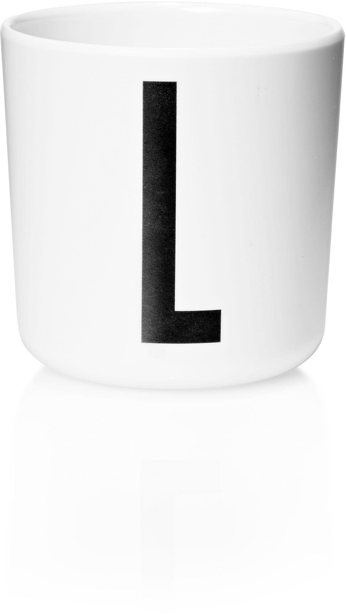 Design Letters Personlig Porslinsmugg Vit, L