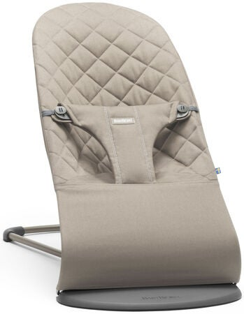 BabyBjörn Bliss Babysitter Cotton, Sandgrå