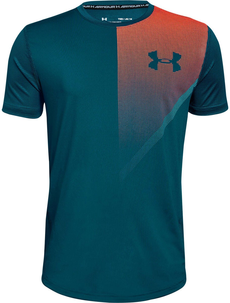 Under Armour Raid SS T-shirt, Techno Teal