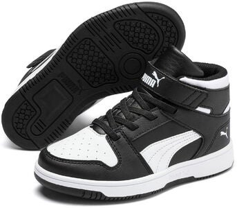 Puma Rebound Lay Up PS Sneaker, Black