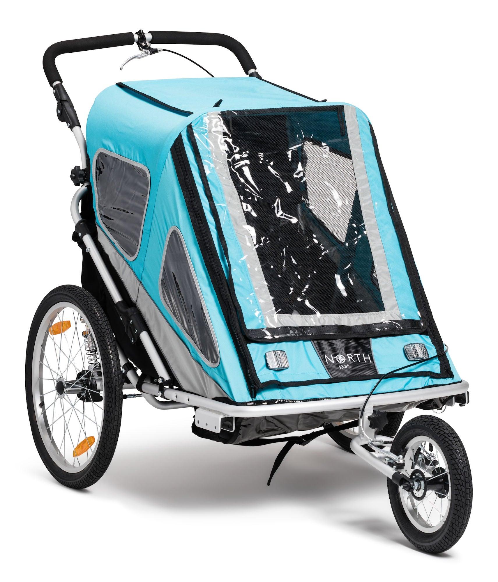 North 13.5 Speeder 2 Cykelvagn, Blue