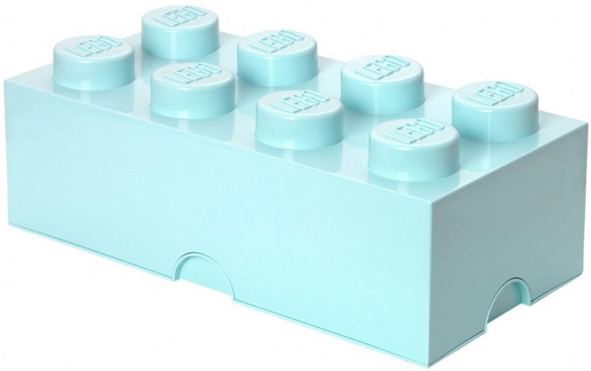 Lego Förvaring 8 Design Collection Turkos