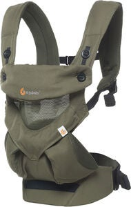 Ergobaby 360 Cool Air Mesh Bärsele, Khaki Green
