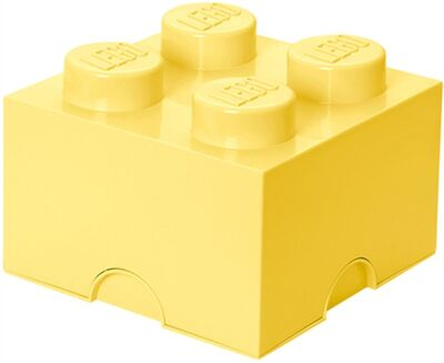 LEGO Förvaring 4 Design Collection, Cool Yellow