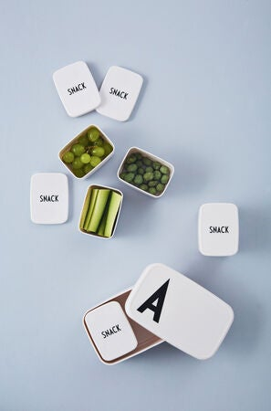 Design Letters Snackbox, Vit