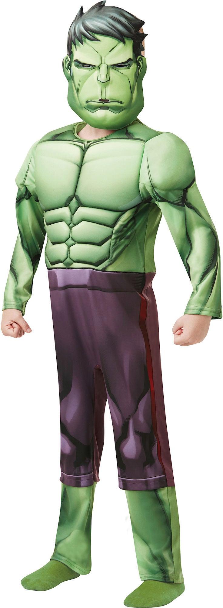 Marvel Avengers Utklädnad Hulken 7-8 år