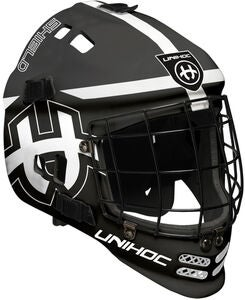 Unihoc Shield Målvaktsmask, Black/White