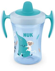 NUK Evolution Trainer Cup Pipmugg, Blå