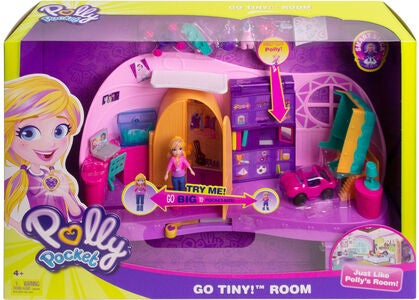 Polly Pocket Polly's Go Tiny! Lekset Rum Micro