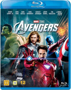 Marvel Avengers Blu-Ray