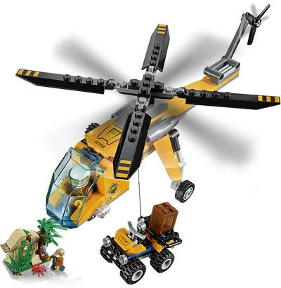 LEGO City 60158 Djungel – Transporthelikopter