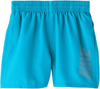 Nike Swim Logo Solid Badshorts, Light Blue Fury