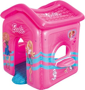 Bestway Uppblåsbar Lekstuga Barbie Malibu Playhouse