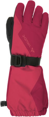 Vaude Kids Snow Cup Gloves Handske, Bright Pink