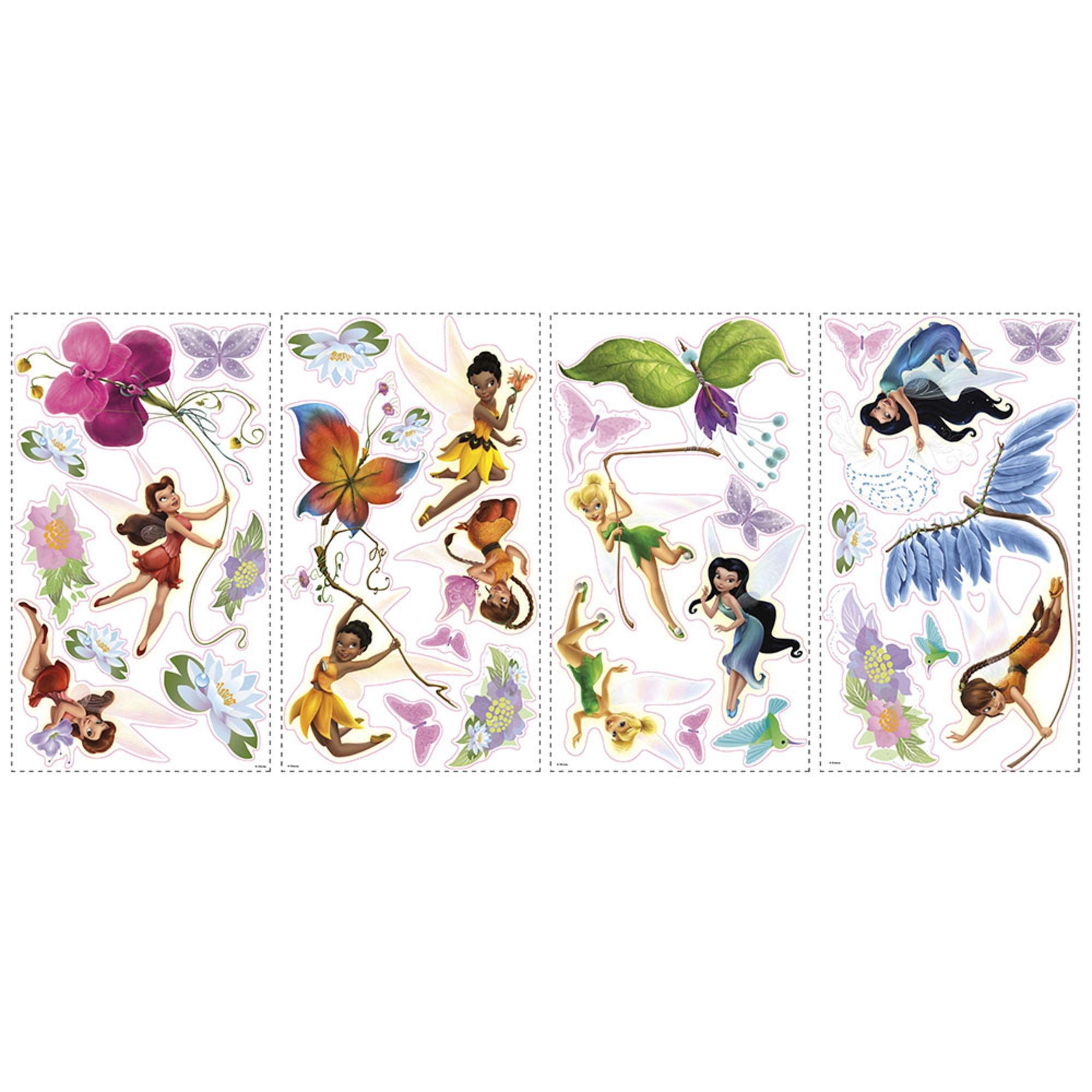 RoomMates Wallstickers Disney Fairiess