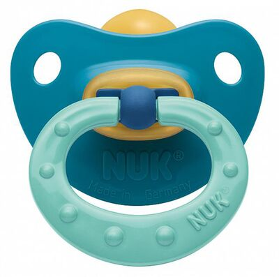 NUK Sugnapp Soft Latex Stl.1 Turkos