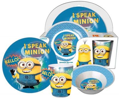 Minions Melaminset Speak