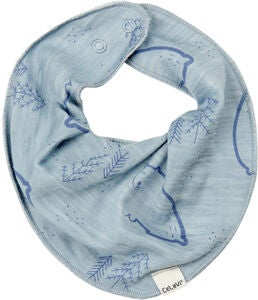 CeLaVi Scarf Bib Ull, Faded Denim