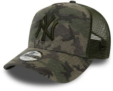 New Era Camo 9FORTY KIDS TRUCKER NEYY Keps, Woodland Camo