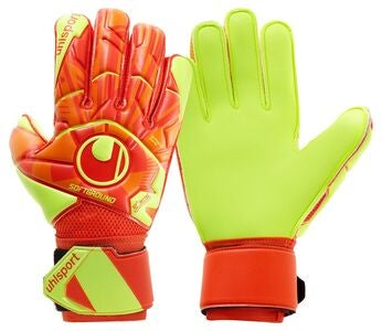Uhlsport Soft Flex Frame Målvaktshandske, Orange/Röd