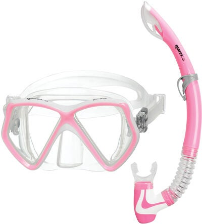 Mares Pirate Snorkelset, Rosa