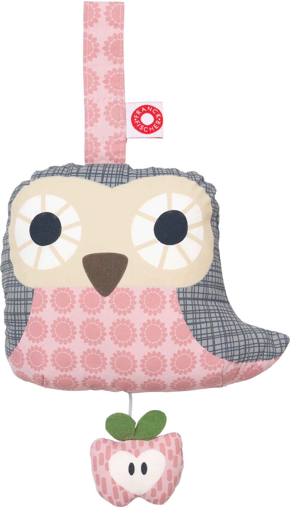 Franck & Fischer Owl Speldosa, Pink