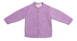 Petite Chérie Atelier Margit Cardigan Ull, Dusty Purple