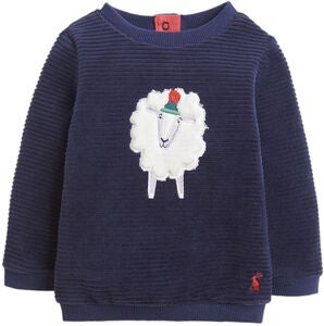 Tom Joule Billy Tröja, Navy Fluffy Sheep