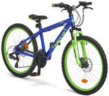 Impulse Premium Dread Mountainbike 24 tum, Blue/Green