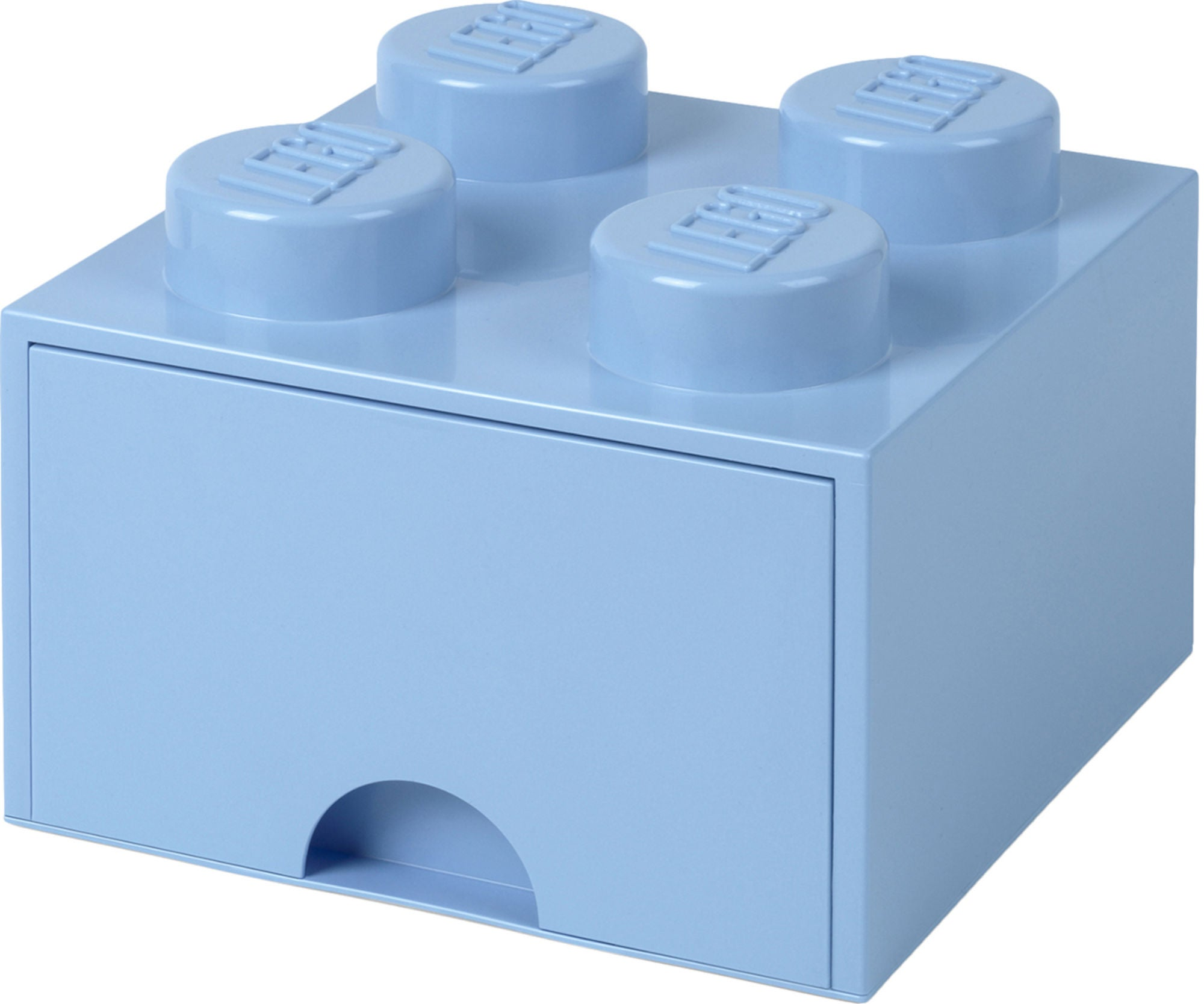 LEGO Förvaring med låda 4, Ljusblå
