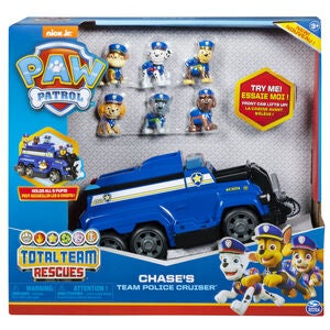 Paw Patrol Total Team Rescue Fordon Chase